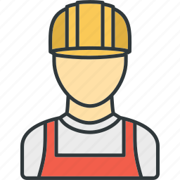 construction, staff, workers, workforce icon