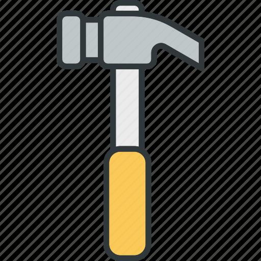 hammer, repair, smashing, tool, tools icon