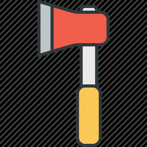 ax, cut, repair, tool, work icon