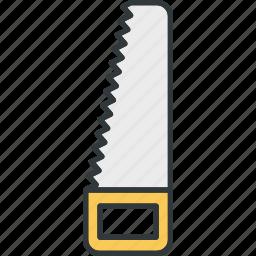 building, hacksaw, saw, tool icon