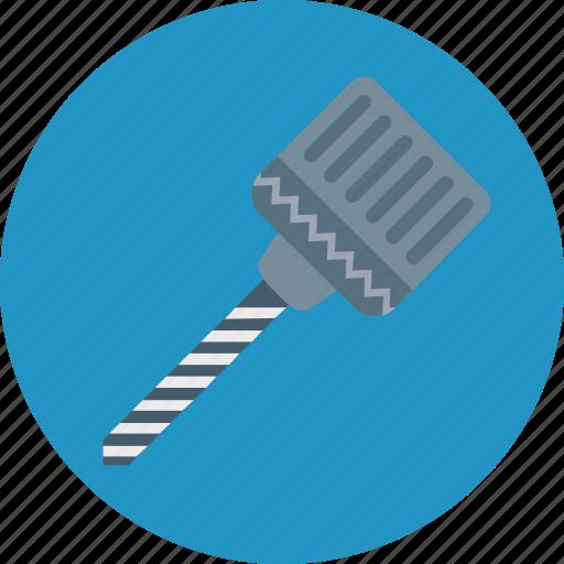 carpenter, drill, drill bit, drill blade, woodwork icon