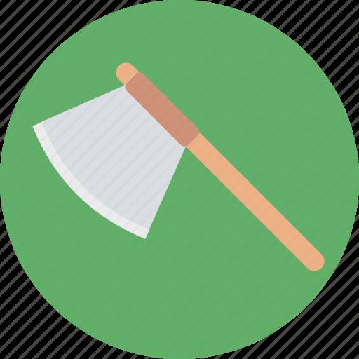ax, axe, cutting tool, hand tool, work tool icon