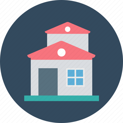 building, home, house, hut, real estate icon