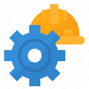 cogwheels, engine, gear, machine icon