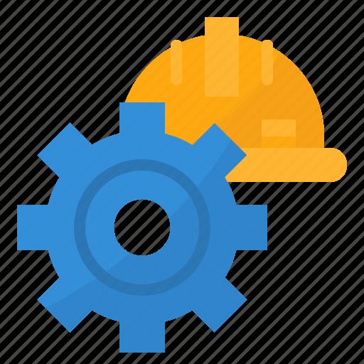 cogwheels, engine, gear, machine icon