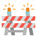 barrier, caution, construction, obstacle