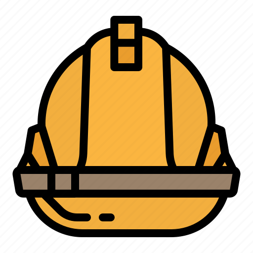 construction, glasses, helmet, safety, security icon