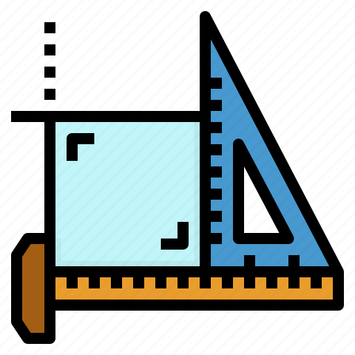 Design, material, office, ruler, stationery icon - Download on Iconfinder