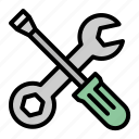 construction, improvement, repair, screwdriver, wrench