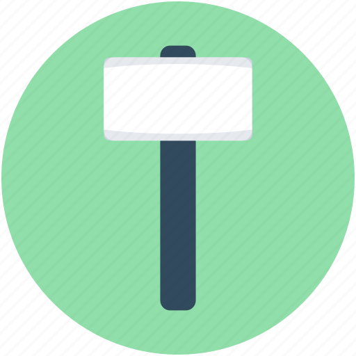 hammer, hand tool, repair tool, sledge hammer, work tool icon