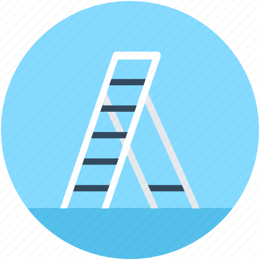 Ladder, railing stair, staircase, stairs, steps icon - Download on Iconfinder