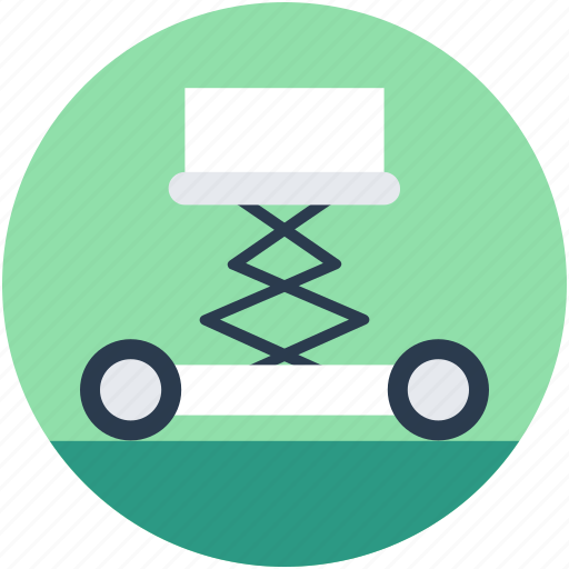 car jack, car lift, garage, lifting jack, trolley jack icon