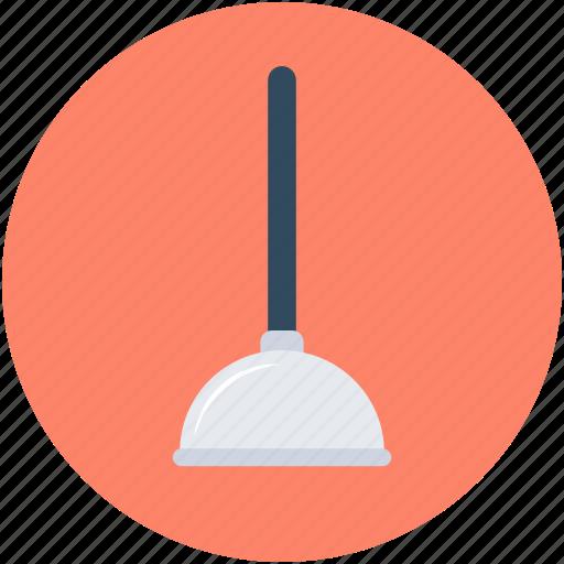bathroom, bathroom pump, plumbing, plunger, tool icon