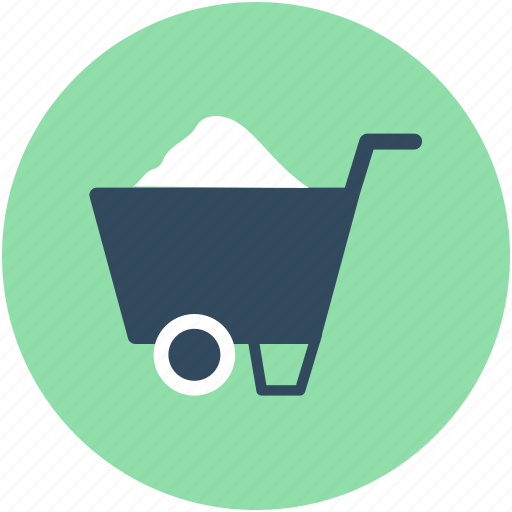 Barrow, cart, garden trolley, hand cart, hand truck, trolley, wheelbarrow icon - Download on Iconfinder