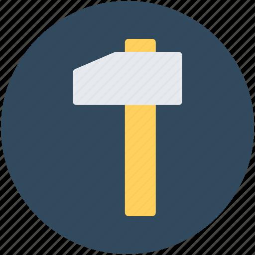 hammer, hammer tool, nail fixer, sledge hammer icon