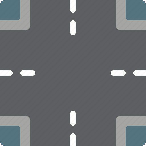 construction, crossroad, road, traffic, work icon
