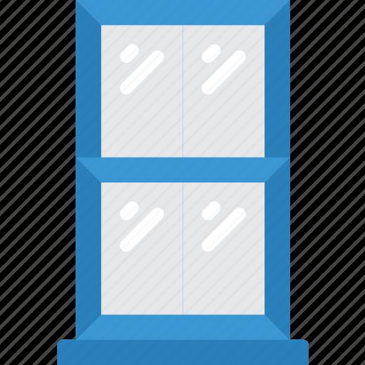 build, construction, develop, house, structure, window icon