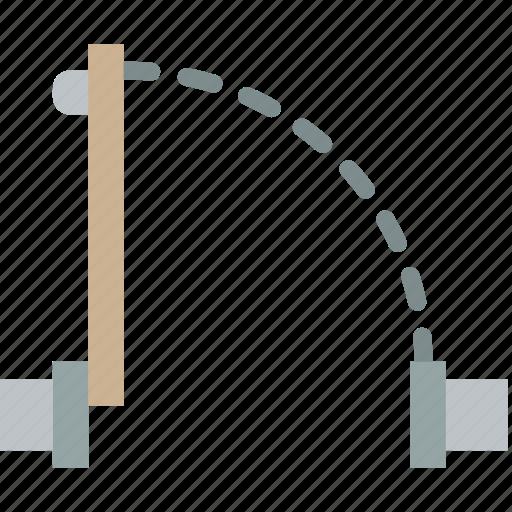 construction, door, plan icon