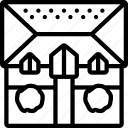 build, construction, develop, house, plan, structure icon