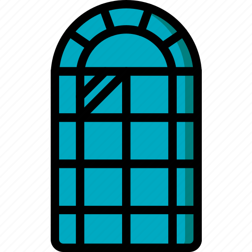construction, house, ultra, window icon