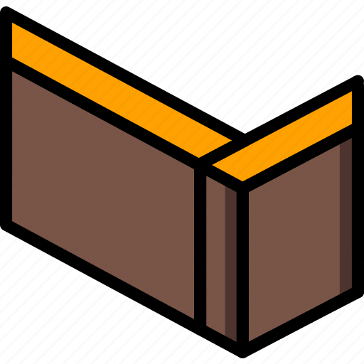 butt, construction, joint, woodwork icon