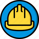 construction, hard, hat, ppe, protect icon