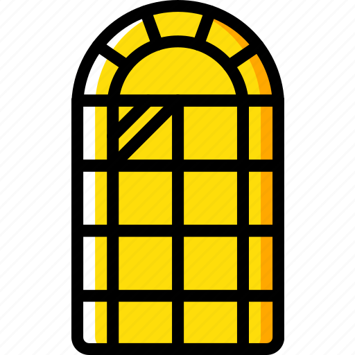construction, house, window icon