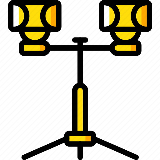 construction, lights, road, traffic, work icon