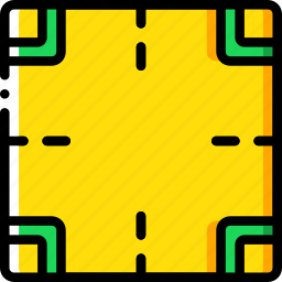 construction, crossroad, road, traffic, work icon