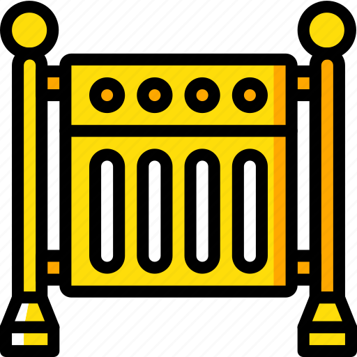 construction, fencing, road, traffic, work icon