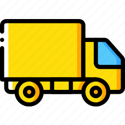 construction, lorry, machinery, transport icon