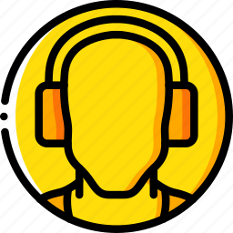 construction, ear, muffs, ppe, protect icon