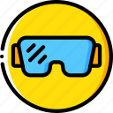 construction, glasses, ppe, protect, safety icon