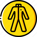 construction, hazmat, ppe, protect, suit icon