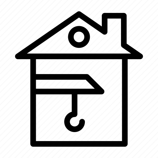Building, construction, crane, home, house icon - Download on Iconfinder