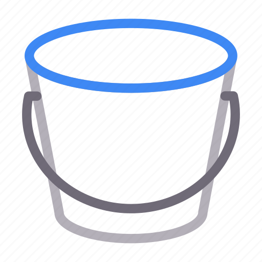 Bucket, construction, pail, tools, water icon - Download on Iconfinder