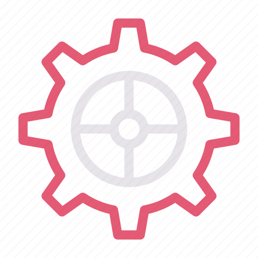 cogwheel, construction, gear, setting, tools icon