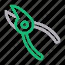 equipment, fix, pliers, repair, tools icon