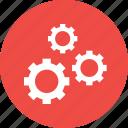 construct, gear, optimize, repair, setting, ui icon
