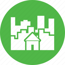 building, city, construction, home, house icon