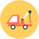 construction, crane hook, crane vehicle, lifter, lifting hook icon