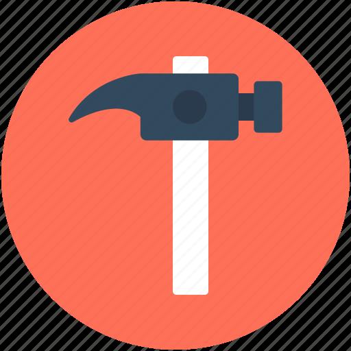 hammer, hammer tool, nail fixer, nail hammer icon