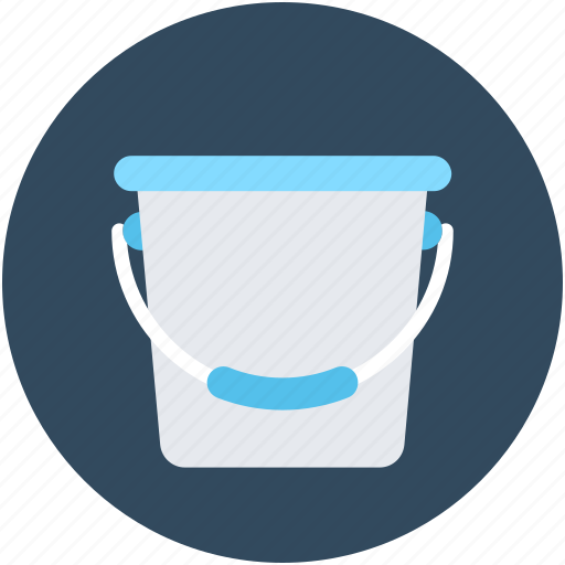 Bucket, pail, paint bucket, water, water bucket icon - Download on Iconfinder