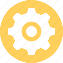 cogwheel, gear, gear wheel, options, settings icon