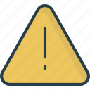 alert, attention, danger, error icon icon