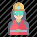 worker, woman
