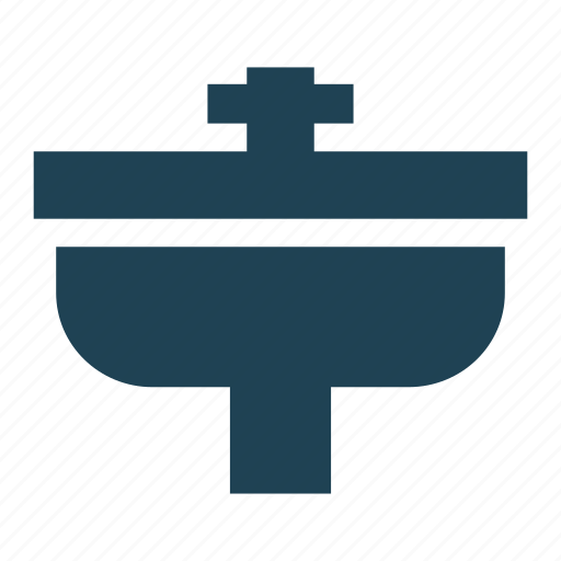bathroom, construction, faucet, house, plumber, sink, water icon