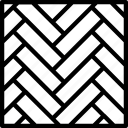 building, parquet, tool icon