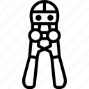 construction, plier, tool icon