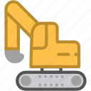 building, construction, container, crane icon